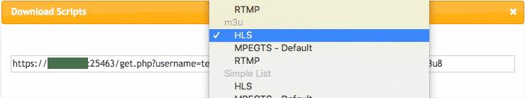 Issue M3U HLS File XtreamCodes